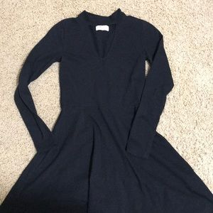 Black hollister skater dress